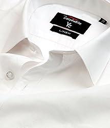 Crazy4White Linen White Shirt (46)