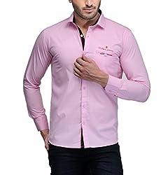 Fender Zone Men's Casual Shirt - 21182-44_Pink_44