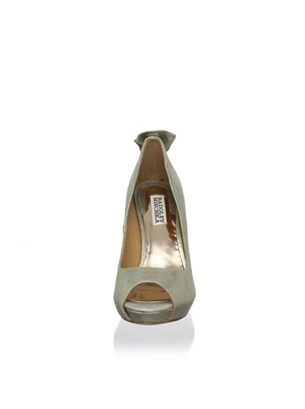 Badgley Mischka Women's Macee II Peep-Toe Pump