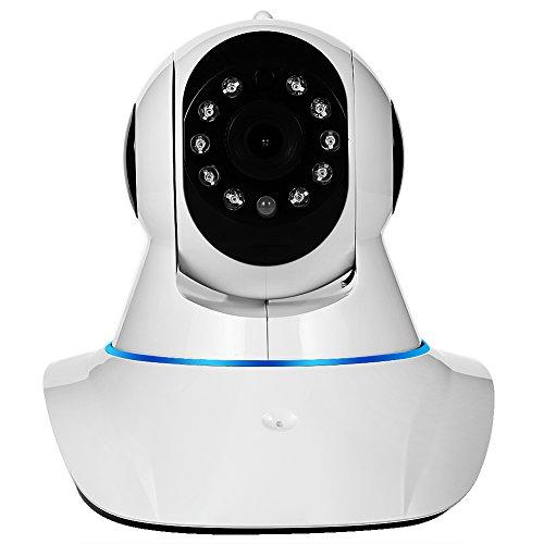 NexGadget ネットワークカメラ 300万画素 モーション検知・暗視機能 WiFi/LAN対応 スマホ/パソコン対応