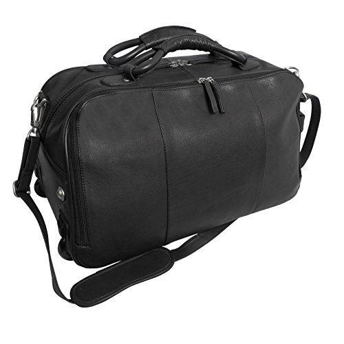 canyon-outback-wildcat-canyon-20-inch-rolling-leather-duffel-bag-black-one-size