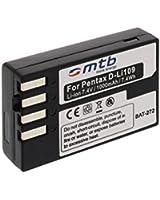 Batterie D-LI109 pour Pentax K-r, Kr, K30, K-30, K-50, K-500