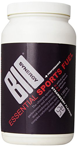 Bio-Synergy Essential Sports Fuel Recovery and Performance Shake Powder, Strawberry, 1065g