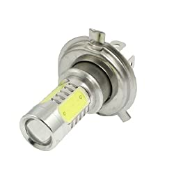 See Water & Wood 11W DC 10-24V Car White 5 SMD LED H4 Daytime Driving Light Foglamp with Car Cleaning Cloth Details