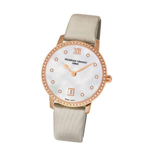 Frederique Constant - Reloj de pulsera mujer, color blanco