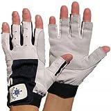 Blueport Segelhandschuhe aus Leder - 5 Finger frei