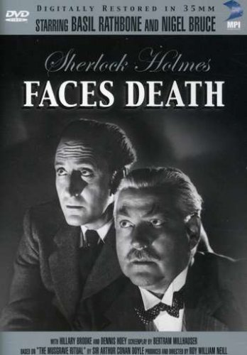 Sherlock Holmes Faces Death Cover