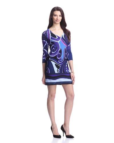 Ali Ro Women's Cropped Sleeve Dress