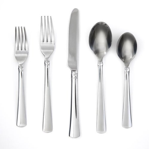 Cambridge Silversmiths Iliad Mirror 30-Piece Flatware Set