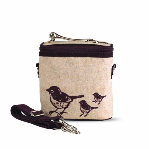 SoYoung Brown Birds Insulated Small Cooler Bag - 1