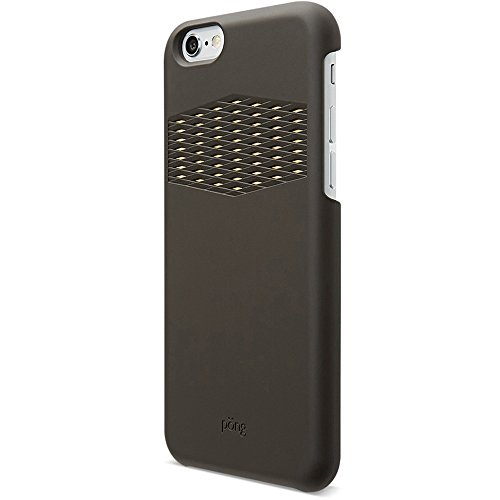 Pong Sleek iPhone 6 Plus/6s Plus Case - with built in antenna technology - Black (Iphone 6 Plus Case Anti Radiation compare prices)