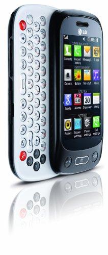 LG GT350 Town Smartphone (7.6 cm (3 Zoll) Display, Touchscreen, 2 Megapixel Kamera) Glossy schwarz/silber