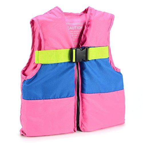 Surepromise Children Kids Swimming Life Jacket Swim Float Buoyancy Aid Vest Kayak Sailing Size