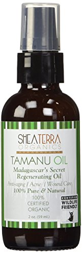 Shea Terra Organics Certified Organic Tamanu Face & Body Oil(2oz)