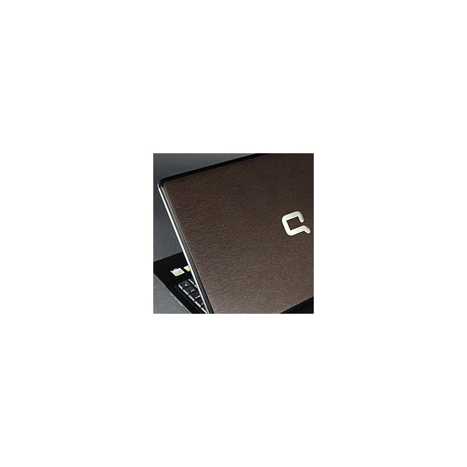 HP Compaq 510 Laptop Cover Skin [Brown Leather]