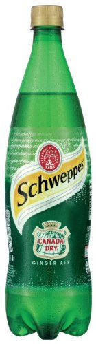 Schweppes Canada Dry Ginger Ale 1 Litre (Pack of 12)