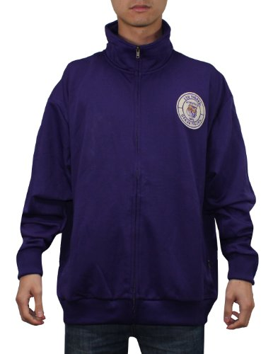 NCAA LSU Tigers Mens Zip-Up Track Jacket with Embroidered Logo XL Purple at Amazon.com