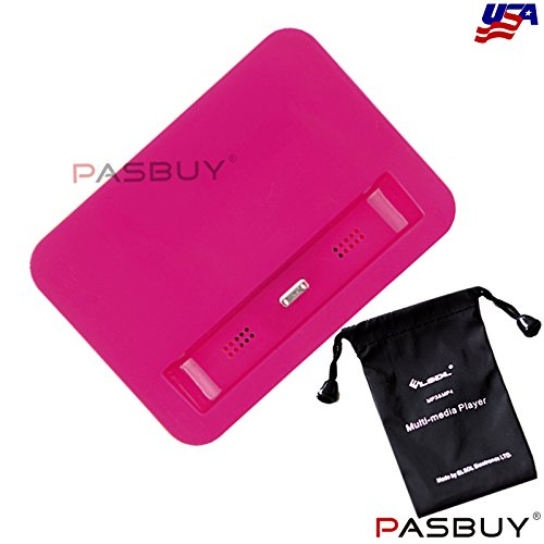 Pasbuy® 1012/Hot Pink Data Sync Charging Dock Station Adapter For Iphone 5 5S 5C+Free Mp3 Of Sling Bag front-594734