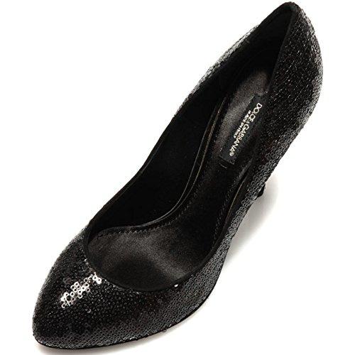 78455 decollete DOLCE&GABBANA D&G PAILLETES scarpa donna shoes women [37.5]