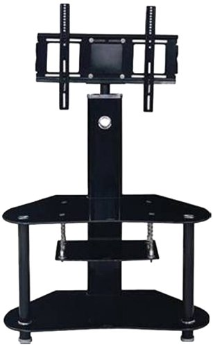 """Hodedah 35"""" Wide TV Stand with Swiveling Mount"""