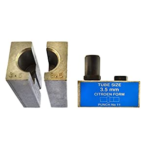 3.5mm Citroen Brake Pipe Flaring Flare Tool Punch And Die Single / Double FL45