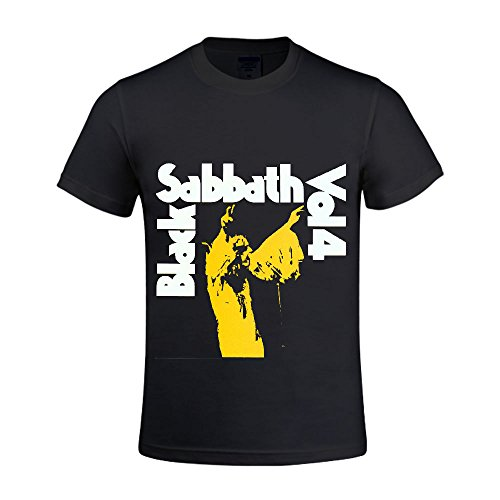 Black-Sabbath-Black-Sabbath-Vol-4-Men-T-Shirts-Crew-Neck-Funny