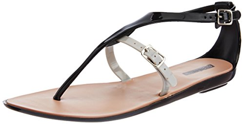 GoBahamas Women's Flirtini Black Fashion Sandals - 6 UK