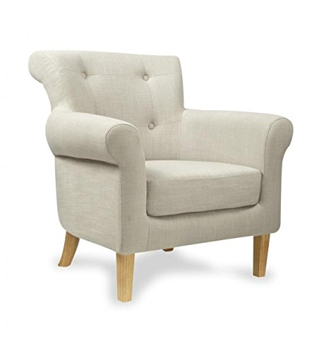 Shankar Pittsburgh Light Grey Fabric Armchair