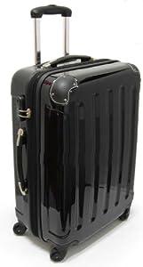XAVION® Reisekoffer aus Polycarbonat - Trolley, Koffer, in SCHWARZ- Gr. L/68cm/71L