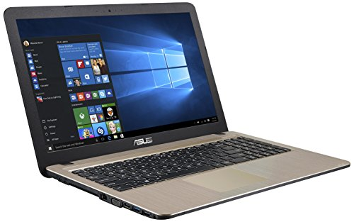 "Asus F540LA-XX030T - Portatíl de 15.6"" (Intel Core I3-4005U, 4 GB de RAM, disco HDD de 500 GB, Windows 10), negro y plata - teclado QWERTY español"