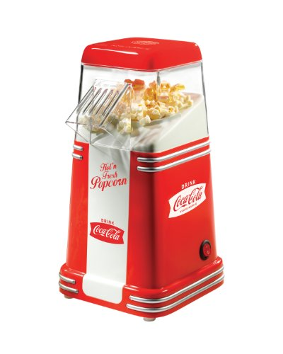 Nostalgia Electrics Coca Cola Series Rhp310Coke Mini Hot Air Popcorn Popper front-71768