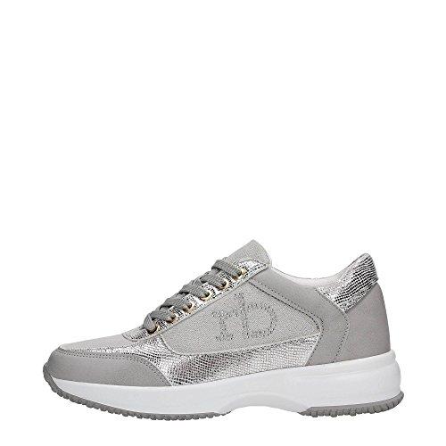 Rb RoccoBarocco RBSC0VD01S Sneakers Donna Tessuto Grigio Grigio 36