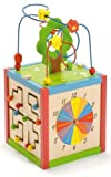 East Coast Wooden Mutli Activity Cube Toy - 3946