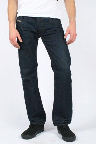Diesel - Mens Larkee 0806X Denim Jeans, Size: 40W x 32L, Color: Denim