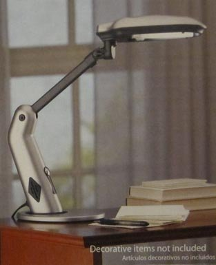 sunlight desk lamp natural full spectrum.  Desk Sunlight Desk Lamp Natural Full Spectrum Sun Light Simulates Daylight  150Watt Output Uses 27 Watts Touch OnOff Switch And M
