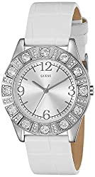 Guess Analog Silver Dial WomensWatch - I95263L1