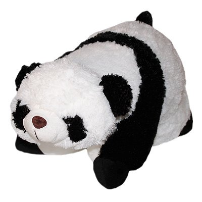 Pillow Pet Soft Toy, Panda, 30 x 50 Cm