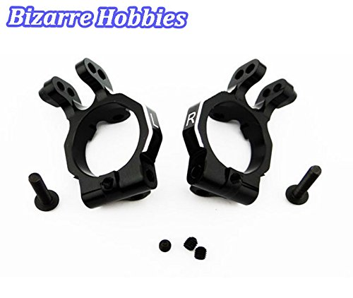 Hot Racing YET19x01 Aluminum Steering Knuckle Carrier Set for the 1/10th Scale Axial Yeti and Exo Vehicles (Exo Steering Knuckle compare prices)