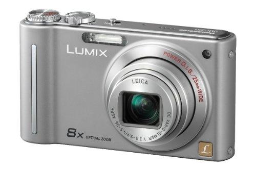 Panasonic Lumix DMC-ZX1EB-S Digital Camera - Silver (12.1 MP, 8x Optical Zoom)