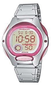 Casio - LW-200D-4A - Sports - Montre Femme - Quartz Digital - Cadran LCD - Bracelet Acier Gris