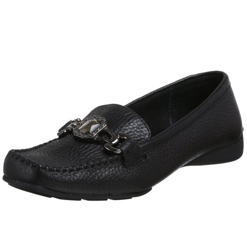 Bella Vita Women's Diane Moccasin,Black,6 WW