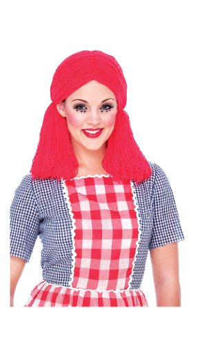 Rag Doll Adult Costume Wig