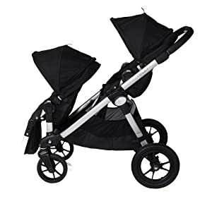 Baby Jogger City Select Stroller With 2nd Seat Onyx Baby