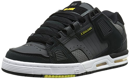 GLOBE Skateboard Shoes SABRE NIGHT/BLACK/YELLOW Sz 8
