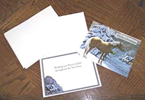 Lang Christmas Cards - Horse Western Warm Glow - 21 Boxed Cards