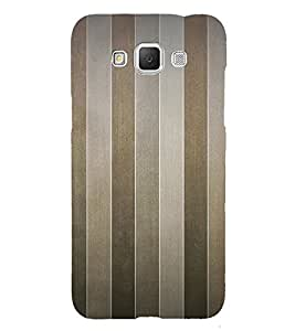 Brown Line Pattern 3D Hard Polycarbonate Designer Back Case Cover for Samsung Galaxy Grand Max G720