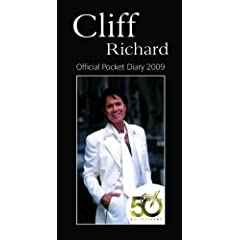 Official Cliff Richard Slim Diary 2009
