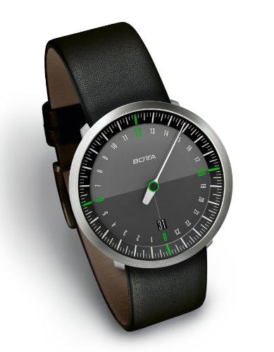 UNO 24 NEO MenÕs Watch by Botta-Design (Leather Strap), 228010