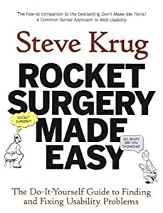 "Cover of ""Rocket Surgery Made Easy: The D..."