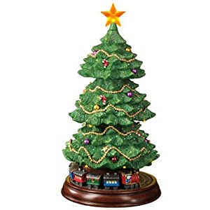 Amazon.com - Fiber Optic Rotating Christmas Tree with ...